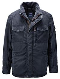Jacke in vorgewaschener Qualität