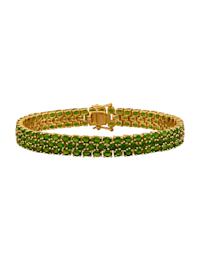 Armband av guldfärgat silver 925