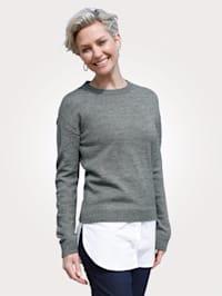 Pullover in 2-in-1-Optik
