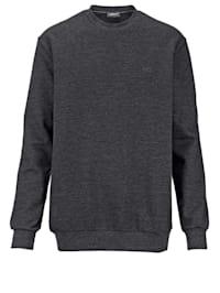 Sweatshirt mit kleiner Stickerei