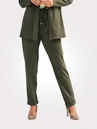 Trousers in a pull-on design