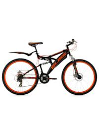 Fully Mountainbike Bliss 26 Zoll schwarz-orange