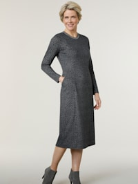 Jersey dress in a comfortable cut