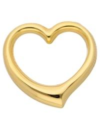 1001 Diamonds Damen Goldschmuck 585 Gold Anhänger Swingheart