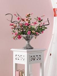 Wildrosen im Keramiktopf