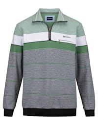 Sweatshirt voor een aangenaam draaggevoel