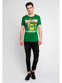Printshirt Green Lantern Power mit klassichem Heldenmotiv