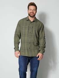 Outdooroverhemd van sneldrogend materiaal