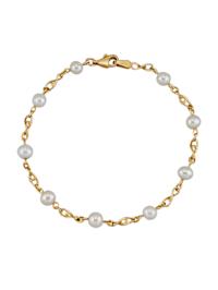 Bracelet avec perles de culture d'eau douce