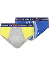Jan Vanderstorm 2er Pack Sportslip TERJE