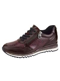 Sneakers à association de matières