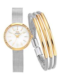 Parure 2 pièces montre + bracelet