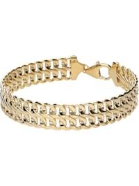 Armband Fantasiekette, Gold 375