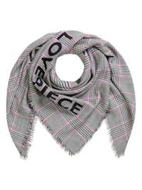 Glencheck-Tuch LOVE PIECE aus weicher Wolle