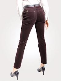 Kalhoty v jemné kordové kvalitě