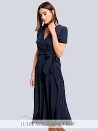 Kleid in effektvoller Wickel-Optik