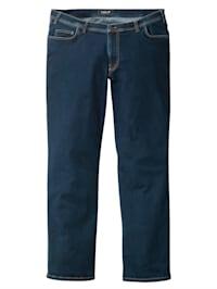 Jeans med extra plats för magen