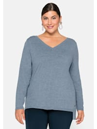 Pullover in weichem Feinstrick