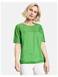 Shirt mit Materialpatch