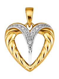 Hanger met 1 diamant