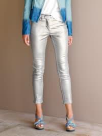 Nohavice v metalickom vzhľade