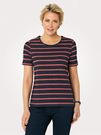 Top made from soft Pima cotton