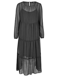 Modisches Kleid mit vielen Details