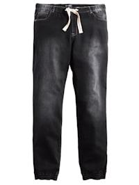 Jog nohavice v used vzhľade