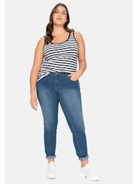 Jeans in schmaler Form