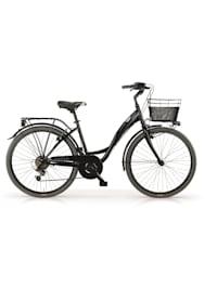 Citybike Agorà 26 Zoll Schwarz