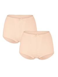 Tvaruj. kalhotky, 2 ks s vysokým podílem bavlny