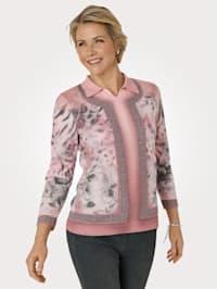 Pullover in Twinset-Optik