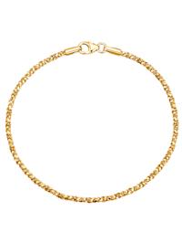Bracelet fantaisie en or jaune 375