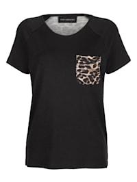 Shirt mit Leodruck