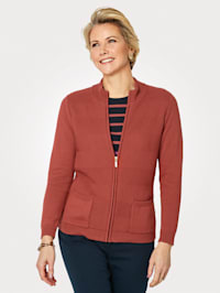Cardigan made from pure Pima cotton