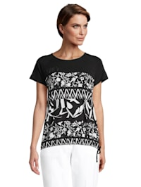 Casual-Shirt mit Tunnelzug
