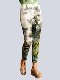 Pantalon de plage à superbe imprimé fantaisie