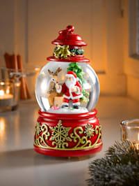"""Lumisadepallo / Soittorasia """"Jingle Bells"""""""