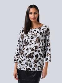Pullover im Animal Dessin
