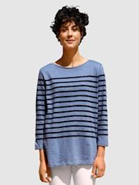 Shirt mit Streifendesign