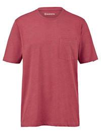 T-shirt met borstzak