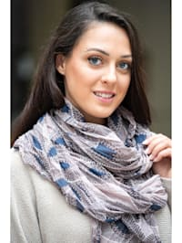 Italienischer Schal Indian Summer Made in Italy
