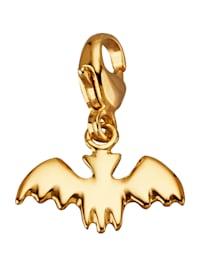 Fledermaus-Einhänger in Gelbgold 375