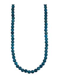 Apatit-Kette in Silber 92