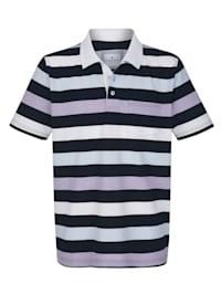 Poloshirt in Piqué Qualität