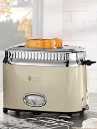 Kompakt Toaster mit Retro Contdown Anzeige