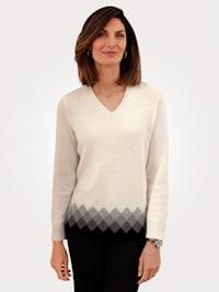 Pullover in reiner Lambswool-Qualität