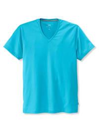 Kurzarm-Shirt, V-Neck STANDARD 100 by OEKO-TEX zertifiziert