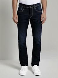 Marvin Straight Jeans mit Taschendetails