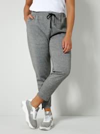 Pantalon de sport aspect double face